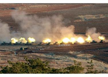 160311 - RS - KIM JONG UN - Marschall KIM JONG UN besuchte einen Panzerwettbewerb der Armee - 02 - 경애하는 김정은동지께서 《조선인민군 땅크병경기대회-2016》을 보시였다