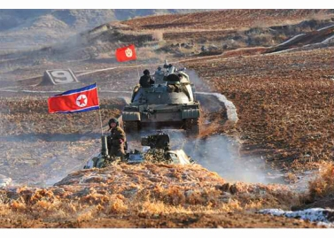 160311 - RS - KIM JONG UN - Marschall KIM JONG UN besuchte einen Panzerwettbewerb der Armee - 06 - 경애하는 김정은동지께서 《조선인민군 땅크병경기대회-2016》을 보시였다