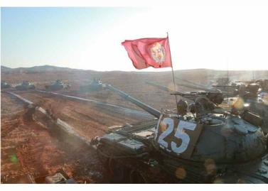160311 - RS - KIM JONG UN - Marschall KIM JONG UN besuchte einen Panzerwettbewerb der Armee - 13 - 경애하는 김정은동지께서 《조선인민군 땅크병경기대회-2016》을 보시였다