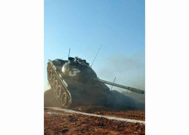 160311 - RS - KIM JONG UN - Marschall KIM JONG UN besuchte einen Panzerwettbewerb der Armee - 14 - 경애하는 김정은동지께서 《조선인민군 땅크병경기대회-2016》을 보시였다