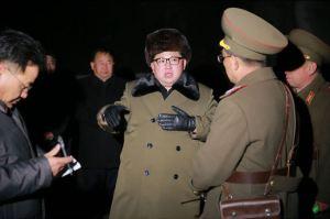 160311 - SK - KIM JONG UN - Marschall KIM JONG UN sah sich eine Übung der Strategischen Truppen der KVA an - 02 - 경애하는 김정은동지께서 조선인민군 전략군의 탄도로케트발사훈련을 보시였다