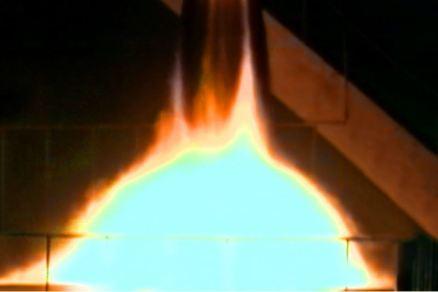 160315 - 조선의 오늘 - KIM JONG UN - Marschall KIM JONG UN besichtigte eine erfolgreiche Simulation des Wiedereintritts der ballistischen Rakete in die Atmosphäre - 09 - 경애하는 김정은동지께서 탄도로케트 대기권재돌입환경모의시험을 지도하시였다