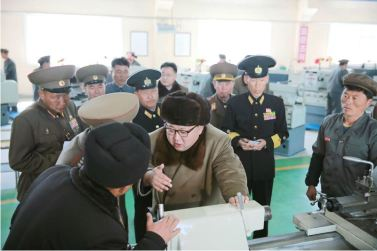 160322 - 조선의 오늘 - Marschall KIM JONG UN besichtigte das Schiffsreparaturwerk '3. Oktober' der 597. Truppe der KVA - 05 - 경애하는 김정은동지께서 우리 나라 선박수리공장의 본보기, 표준으로 전변된 조선인민군 해군 제597군부대관하 10월3일공장을 현지지도하시였다