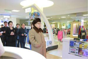 160328 - 조선의 오늘 - KIM JONG UN - Marschall KIM JONG UN besichtigte das Kaufhaus Mirae und die Komplexe Dienstleistungsbasis - 06 - 경애하는 김정은동지께서 새로 건설된 미래상점과 종합봉사기지를 현지지도하시였다