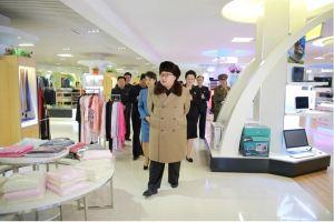 160328 - 조선의 오늘 - KIM JONG UN - Marschall KIM JONG UN besichtigte das Kaufhaus Mirae und die Komplexe Dienstleistungsbasis - 10 - 경애하는 김정은동지께서 새로 건설된 미래상점과 종합봉사기지를 현지지도하시였다