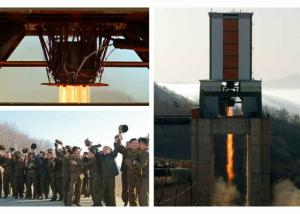 160409 - RS - KIM JONG UN - Marschall KIM JONG UN leitete einen Test am neuen Raketentriebwerk - 01 - 경애하는 김정은동지께서 서해위성발사장을 찾으시여 새형의 대륙간탄도로케트 대출력발동기지상분출시험을 지도하시였다