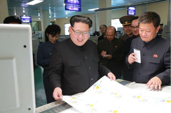 160419 - 조선의 오늘 - KIM JONG UN - 02 - 경애하는 김정은동지께서 새로 건설된 민들레학습장공장을 현지지도하시였다