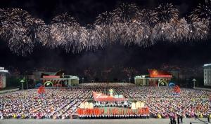 160510 - Naenara - 7. Parteitag der PdAK - Soiree und Fackelzug der Jugendlichen zum 7. Parteitag der PdAK - 03