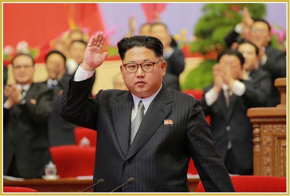 160510 - Naenara - KIM JONG UN - 7. Parteitag der PdAK - Abschluss des VII. Parteitages der PdAK - 김정은 - 조선로동당 제7차대회에서 한 페회사