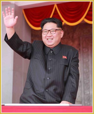 160510 - Naenara - KIM JONG UN - 7. Parteitag der PdAK - Massenkundgebung und -demonstration der Stadt Pyongyang zum VII. Parteitag der PdAK - 01