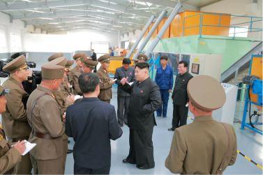 160515 - 조선의 오늘 - KIM JONG UN - Marschall KIM JONG UN besuchte die Baumschule Nr. 122 der KVA - 10 - 경애하는 김정은동지께서 지식경제시대의 요구에 맞게 과학화, 공업화, 집약화가 훌륭히 실현된 조선인민군 122호양묘장을 현지지도하시였다