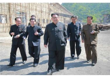 160519 - RS - KIM JONG UN - Marschall KIM JONG UN besuchte das Maschinenwerk unter Ho Chol Yong - 02 - 경애하는 김정은동지께서 허철용동무가 사업하는 기계공장을 현지지도하시였다