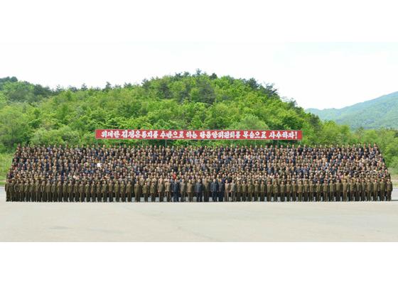 160519 - RS - KIM JONG UN - Marschall KIM JONG UN besuchte das Maschinenwerk unter Ho Chol Yong - 09 - 경애하는 김정은동지께서 허철용동무가 사업하는 기계공장을 현지지도하시였다