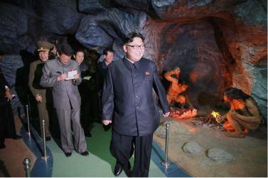 160521 - 조선의 오늘 - KIM JONG UN - Genosse KIM JONG UN besuchte das Naturmuseum und den Zentralen Zoologischen Garten vor deren Einweihungen - 05 - 경애하는 김정은동지께서 완공을 앞둔 자연박물관과 중앙동물원을 현지지도하시였다
