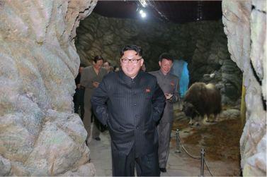160521 - 조선의 오늘 - KIM JONG UN - Genosse KIM JONG UN besuchte das Naturmuseum und den Zentralen Zoologischen Garten vor deren Einweihungen - 10 - 경애하는 김정은동지께서 완공을 앞둔 자연박물관과 중앙동물원을 현지지도하시였다