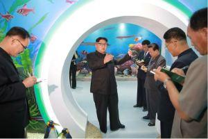 160604 - 조선의 오늘 - KIM JONG UN - Marschall KIM JONG UN besichtigte das neu gestaltete Kinderferienlager Mangyongdae - 04 - 경애하는 김정은동지께서 새로 개건된 만경대소년단야영소를 현지지도하시였다