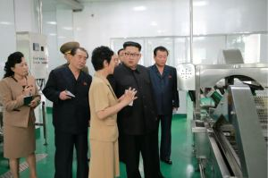 160610 - 조선의 오늘 - KIM JONG UN - Genosse KIM JONG UN besuchte die neu gebaute Kimchi-Fabrik Ryugyong - 03 - 경애하는 김정은동지께서 새로 건설된 류경김치공장을 현지지도하시였다