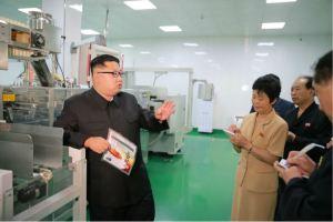 160610 - 조선의 오늘 - KIM JONG UN - Genosse KIM JONG UN besuchte die neu gebaute Kimchi-Fabrik Ryugyong - 08 - 경애하는 김정은동지께서 새로 건설된 류경김치공장을 현지지도하시였다