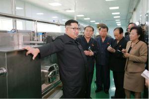 160610 - 조선의 오늘 - KIM JONG UN - Genosse KIM JONG UN besuchte die neu gebaute Kimchi-Fabrik Ryugyong - 10 - 경애하는 김정은동지께서 새로 건설된 류경김치공장을 현지지도하시였다