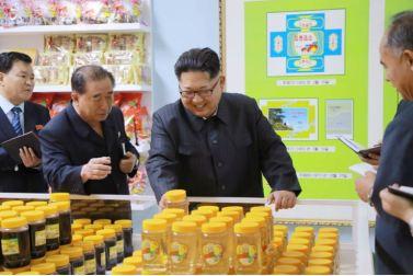 160616 - 조선의 오늘 - KIM JONG UN - Genosse KIM JONG UN besuchte das modern umgebaute Pyongyanger Getreideverarbeitungswerk - 01 - 경애하는 김정은동지께서 현대적으로 개건된 평양곡산공장을 현지지도하시였다