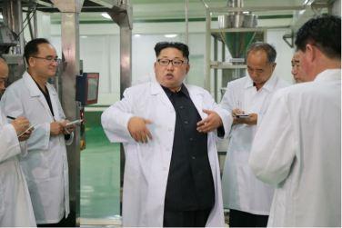 160616 - 조선의 오늘 - KIM JONG UN - Genosse KIM JONG UN besuchte das modern umgebaute Pyongyanger Getreideverarbeitungswerk - 07 - 경애하는 김정은동지께서 현대적으로 개건된 평양곡산공장을 현지지도하시였다