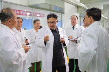 160616 - 조선의 오늘 - KIM JONG UN - Genosse KIM JONG UN besuchte das modern umgebaute Pyongyanger Getreideverarbeitungswerk - 08 - 경애하는 김정은동지께서 현대적으로 개건된 평양곡산공장을 현지지도하시였다