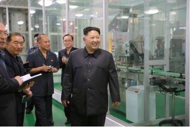 160616 - 조선의 오늘 - KIM JONG UN - Genosse KIM JONG UN besuchte das modern umgebaute Pyongyanger Getreideverarbeitungswerk - 11 - 경애하는 김정은동지께서 현대적으로 개건된 평양곡산공장을 현지지도하시였다