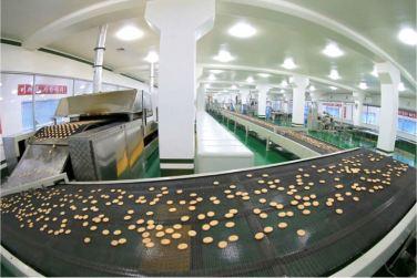 160616 - 조선의 오늘 - KIM JONG UN - Genosse KIM JONG UN besuchte das modern umgebaute Pyongyanger Getreideverarbeitungswerk - 12 - 경애하는 김정은동지께서 현대적으로 개건된 평양곡산공장을 현지지도하시였다