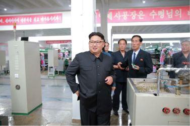 160621 - 조선의 오늘 - Genosse KIM JONG UN besuchte die Pyongyanger Seidenspinnerei 'Kim Jong Suk' - 02 - 경애하는 김정은동지께서 김정숙평양제사공장을 현지지도하시였다