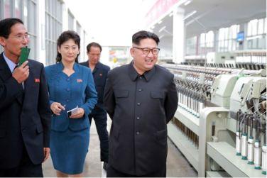 160621 - 조선의 오늘 - Genosse KIM JONG UN besuchte die Pyongyanger Seidenspinnerei 'Kim Jong Suk' - 05 - 경애하는 김정은동지께서 김정숙평양제사공장을 현지지도하시였다