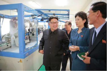 160621 - 조선의 오늘 - Genosse KIM JONG UN besuchte die Pyongyanger Seidenspinnerei 'Kim Jong Suk' - 08 - 경애하는 김정은동지께서 김정숙평양제사공장을 현지지도하시였다