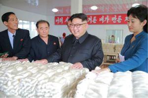 160621 - 조선의 오늘 - Genosse KIM JONG UN besuchte die Pyongyanger Seidenspinnerei 'Kim Jong Suk' - 09 - 경애하는 김정은동지께서 김정숙평양제사공장을 현지지도하시였다