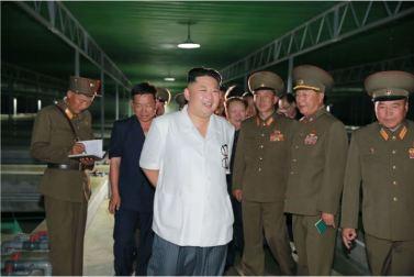 160706 - 조선의 오늘 - KIM JONG UN - Genosse KIM JONG UN besichtigte den rekonstruierten Betrieb für Sumpfschildkrötenzucht Pyongyang - 01 - 경애하는 김정은동지께서 우리 나라 양식공장의 본보기, 표준으로 전변된 평양자라공장을 현지지도하시였다