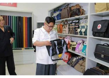 160712 - RS - KIM JONG UN - Genosse KIM JONG UN besichtigte das Kunstlederwerk Phyongsong - 09 - 경애하는 김정은동지께서 평성합성가죽공장을 현지지도하시였다