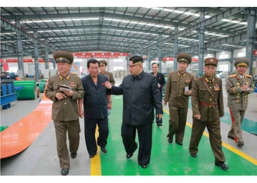 160727 - RS - Genosse KIM JONG UN besuchte das Baumaterialienkombinat Chollima - 03 - 경애하는 김정은동지께서 천리마건재종합공장을 현지지도하시였다