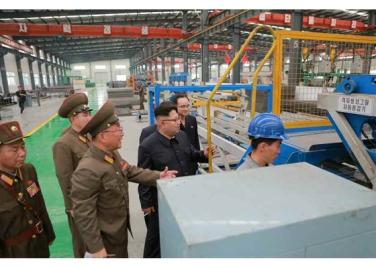 160727 - RS - Genosse KIM JONG UN besuchte das Baumaterialienkombinat Chollima - 07 - 경애하는 김정은동지께서 천리마건재종합공장을 현지지도하시였다
