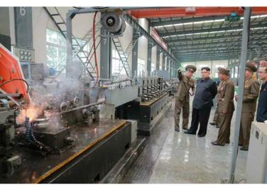160727 - RS - Genosse KIM JONG UN besuchte das Baumaterialienkombinat Chollima - 10 - 경애하는 김정은동지께서 천리마건재종합공장을 현지지도하시였다