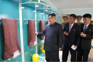 160730 - 조선의 오늘 - KIM JONG UN - Marschall KIM JONG UN besuchte das neue Fischfanggerätekombinat der Armee - 02 - 경애하는 김정은동지께서 새로 건설된 조선인민군 어구종합공장을 현지지도하시였다