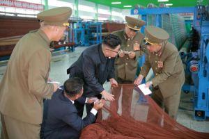 160730 - 조선의 오늘 - KIM JONG UN - Marschall KIM JONG UN besuchte das neue Fischfanggerätekombinat der Armee - 08 - 경애하는 김정은동지께서 새로 건설된 조선인민군 어구종합공장을 현지지도하시였다