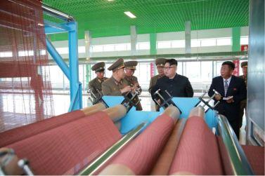 160730 - 조선의 오늘 - KIM JONG UN - Marschall KIM JONG UN besuchte das neue Fischfanggerätekombinat der Armee - 10 - 경애하는 김정은동지께서 새로 건설된 조선인민군 어구종합공장을 현지지도하시였다