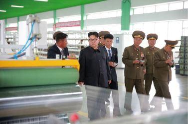 160730 - 조선의 오늘 - KIM JONG UN - Marschall KIM JONG UN besuchte das neue Fischfanggerätekombinat der Armee - 11 - 경애하는 김정은동지께서 새로 건설된 조선인민군 어구종합공장을 현지지도하시였다
