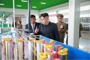 160730 - 조선의 오늘 - KIM JONG UN - Marschall KIM JONG UN besuchte das neue Fischfanggerätekombinat der Armee - 12 - 경애하는 김정은동지께서 새로 건설된 조선인민군 어구종합공장을 현지지도하시였다