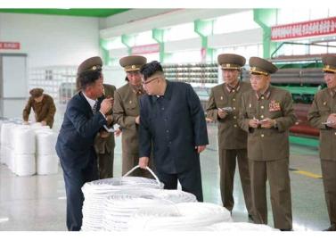 160730 - RS - KIM JONG UN - Marschall KIM JONG UN besuchte das neue Fischfanggerätekombinat der Armee - 10 - 경애하는 김정은동지께서 새로 건설된 조선인민군 어구종합공장을 현지지도하시였다