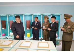 160730 - RS - KIM JONG UN - Marschall KIM JONG UN besuchte das neue Fischfanggerätekombinat der Armee - 12 - 경애하는 김정은동지께서 새로 건설된 조선인민군 어구종합공장을 현지지도하시였다