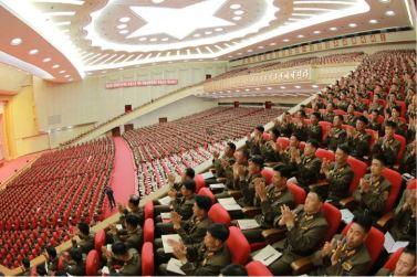 160804 - 조선의 오늘 - Marschall KIM JONG UN leitete das 3. KVA-Treffen der Aktivisten bei der Bewegung um den Titel '7. Regiment unter O Jung Hup' - 08 - 경애하는 김정은동지의 지도밑에 조선인민군 제3차 오중흡7련대칭호쟁취운동열성자대회가 진행되였다