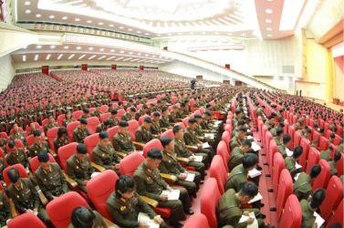 160804 - 조선의 오늘 - Marschall KIM JONG UN leitete das 3. KVA-Treffen der Aktivisten bei der Bewegung um den Titel '7. Regiment unter O Jung Hup' - 09 - 경애하는 김정은동지의 지도밑에 조선인민군 제3차 오중흡7련대칭호쟁취운동열성자대회가 진행되였다