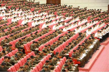 160804 - 조선의 오늘 - Marschall KIM JONG UN leitete das 3. KVA-Treffen der Aktivisten bei der Bewegung um den Titel '7. Regiment unter O Jung Hup' - 10 - 경애하는 김정은동지의 지도밑에 조선인민군 제3차 오중흡7련대칭호쟁취운동열성자대회가 진행되였다