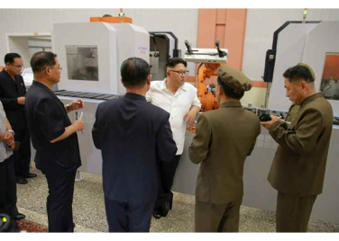 160810 - RS - KIM JONG UN - Genosse KIM JONG UN besichtigte das Maschinenkombinat '18. Januar' - 04 - 경애하는 김정은동지께서 1월18일기계종합공장을 현지지도하시였다
