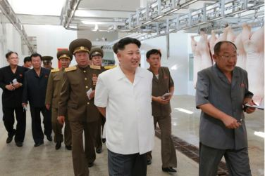160818 - 조선의 오늘 - KIM JONG UN - Marschall KIM JONG UN besichtigte den Schweinezuchtbetrieb Taedonggang - 04 - 경애하는 김정은동지께서 대동강돼지공장을 현지지도하시였다
