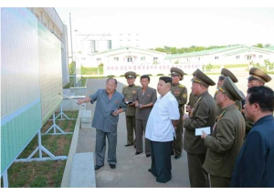 160818 - RS - KIM JONG UN - Marschall KIM JONG UN besichtigte den Schweinezuchtbetrieb Taedonggang - 02 - 경애하는 김정은동지께서 대동강돼지공장을 현지지도하시였다
